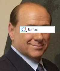 Buffone is the italian word for clown