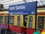 Spandau train station