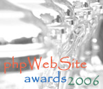The (unofficial!) phpWebSite awards 2006